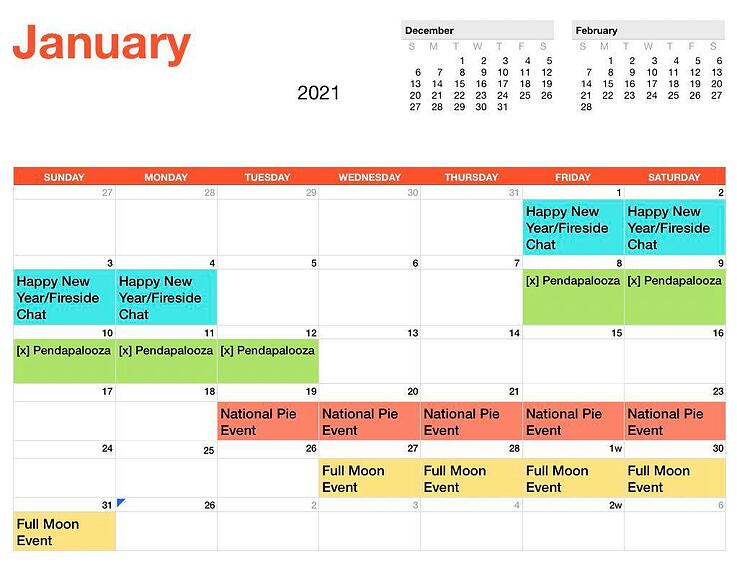 EK Event Schedule_January_2021