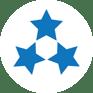 3 stars leader