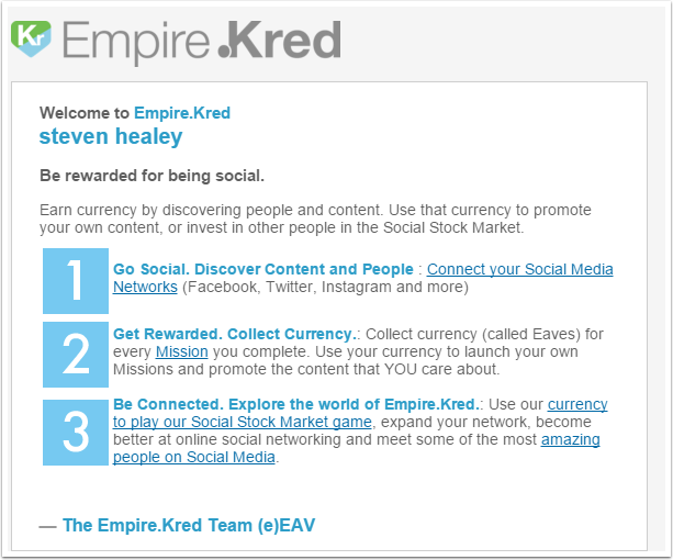 Another email from Empire.Kred