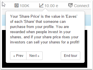 What is your share price ?
